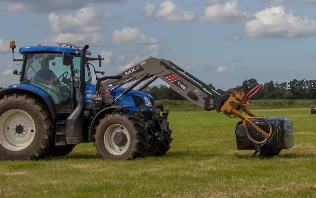 Nieuwe Tractor – T6.155 Electro Command