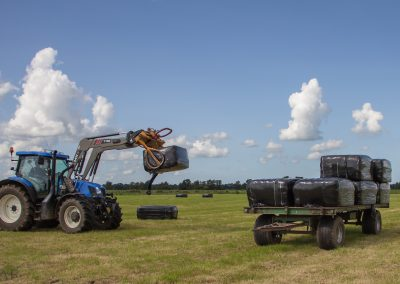New Holland T6.155 in actie