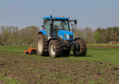 New Holland T6020 hakfrees