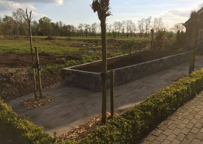 Tuinrenovatie Nuis